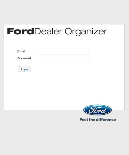 Ford Dealer Organizer